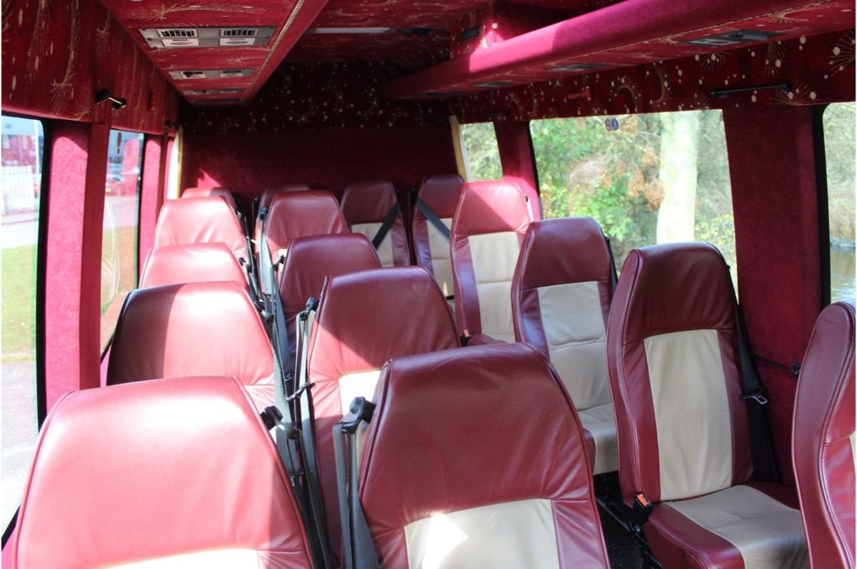 16 seater minibus hire with driver near me