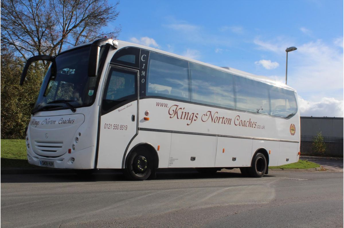 35 seater coach trips